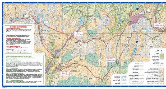 10Peaks Brecon Beacons 2018 map preview