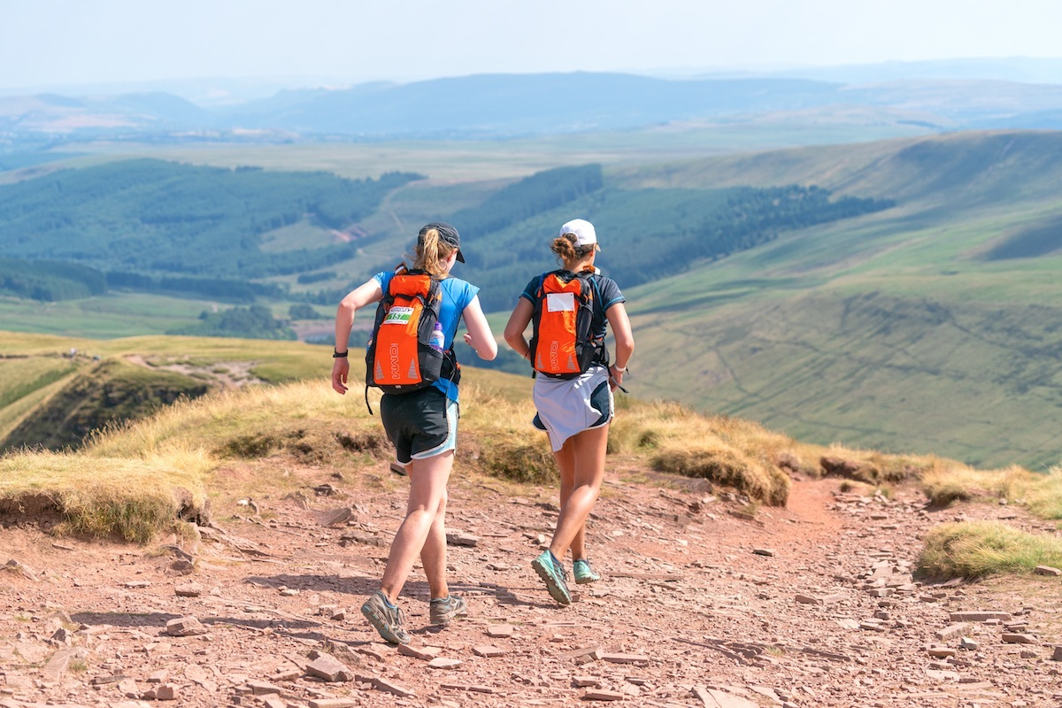 10Peaks The Lakes™ encounters some varied terrain including these rocky sections - all the more enjoyable!